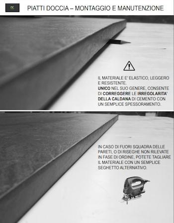 Istruzioni Montaggio Piatti Doccia